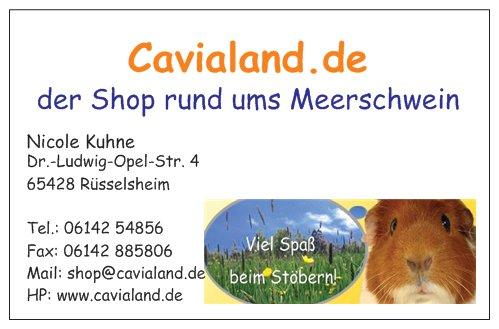 Cavialand De Visitenkarten Cavialand De 20 Stück